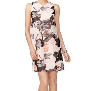 Vince Camuto Floral Open Side Dress